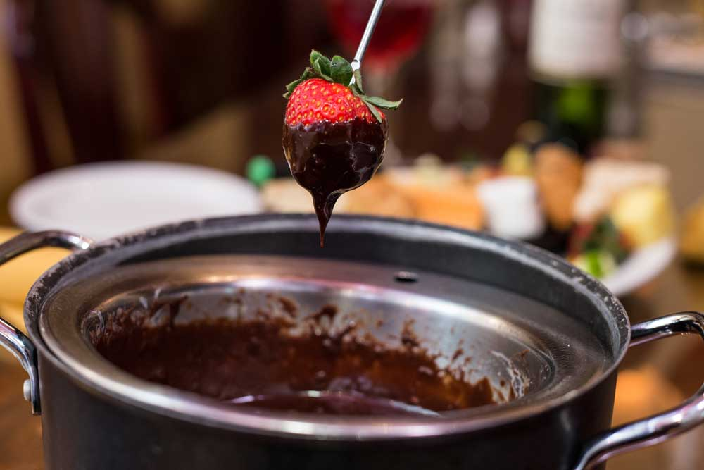 Rich, Creamy, Chocolate Fondues